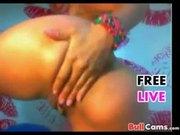 Latina Webcam- Pretty Chick Loves Anal Dildo