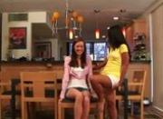very hot two lesbians before webcam