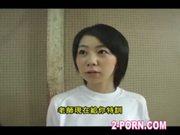 jap schoolgirl basketball shooting practice