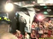 Black CFNM stripper sucked at CFNM party