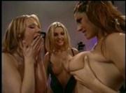 Lesbians Devon, Raylene and Chandler