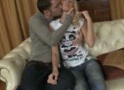 Kissing small breast