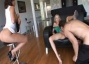 Nicole Ray and Bella Ray threesome