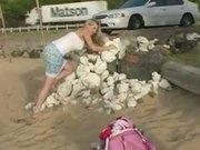 Alison Angel 12v2 Cute Beach Play