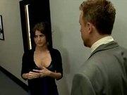 Office babe secretary Jenni lee cumshot compilation sex with boss