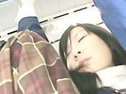 Schoolgirl groped by Stranger in a crowded Train 08