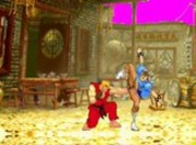 Ken Fists Chun Li