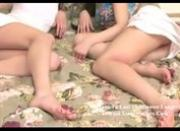 Stunning teen beauties nailed by lucky dick