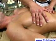 Gay masseur is a ball sucking pro
