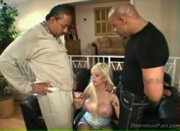 Hot Blonde Milf Carson Interracial
