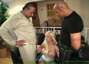 Hot Blonde Milf Carson Interracial