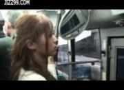 busty milf fucked by geek on bus