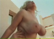 Busty Blonde Nicky Tease