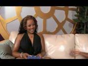 Ebony Lesbian Skyy Black & Butterfly