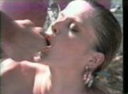 Lesbian Twins Christeline & Sandrine Orgy, Cumswap & Bukkake