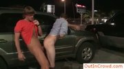 Hardcore gay sex on parkinglot by outincrowd