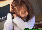 Cute asian schoolgirl fucked hard