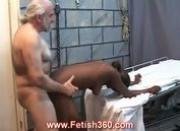 Hot black chick fucked hard