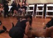 Women In Black Dresses Fucked By Male Dancers