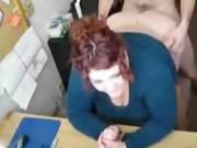 German Chubby Secretary at Work
