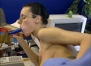 European secretary fucked by her boss in the office