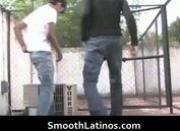 Hot gay Latinos having gay porn
