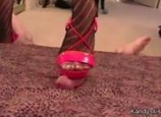 Cock Trample Red Shoes
