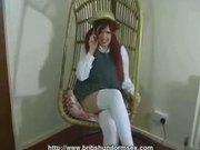 Redhead School Uniform Lauren
