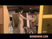 jap cuite nude in video rental shop