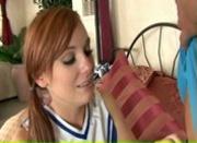 Redhead Cheerleader Dani
