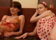 two pretty young fuck with guy