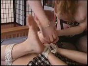 Mistress Restrains and Manhandles her Slavegirl