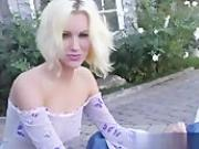 Angeline is a very sexy blonde who has seductive