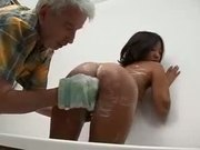 Asian Teen Fucked By Old Man