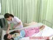nurse handjob in front of wife 03