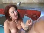 Mature Redhead Anal with young man