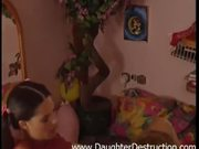 Old daddy wants young teen daughter ass