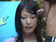 Japanese Newscasters Cum-Manhandled 1