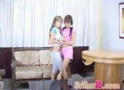 Nubile lesbians: Paulina and Selina