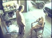 Security Cam Auto Repair Shop
