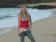 Alison Angel 12v1a Sunrise Beach Shoot