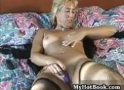 Bridgette is a lingerie wearing blonde haired MIL