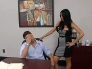 Audrey Bitoni, How to get a blowjob promotion