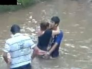 Drunk Milf Fucks A Boy In The River