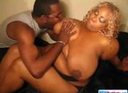 Horny Big Black Couple