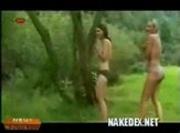 Sabrina and her Girlfriends at the Lake