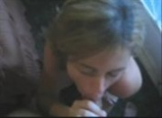 Amateur wife blowjob hand to mouth cumshot slap