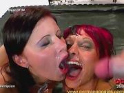 Cum thirsty and horny brunette girls