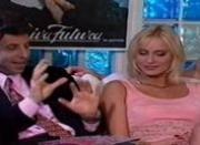 Blonde Visits Italian Men\'s Club