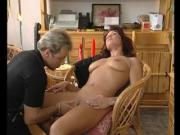 Redhead milf trys some cock - Julia Reaves